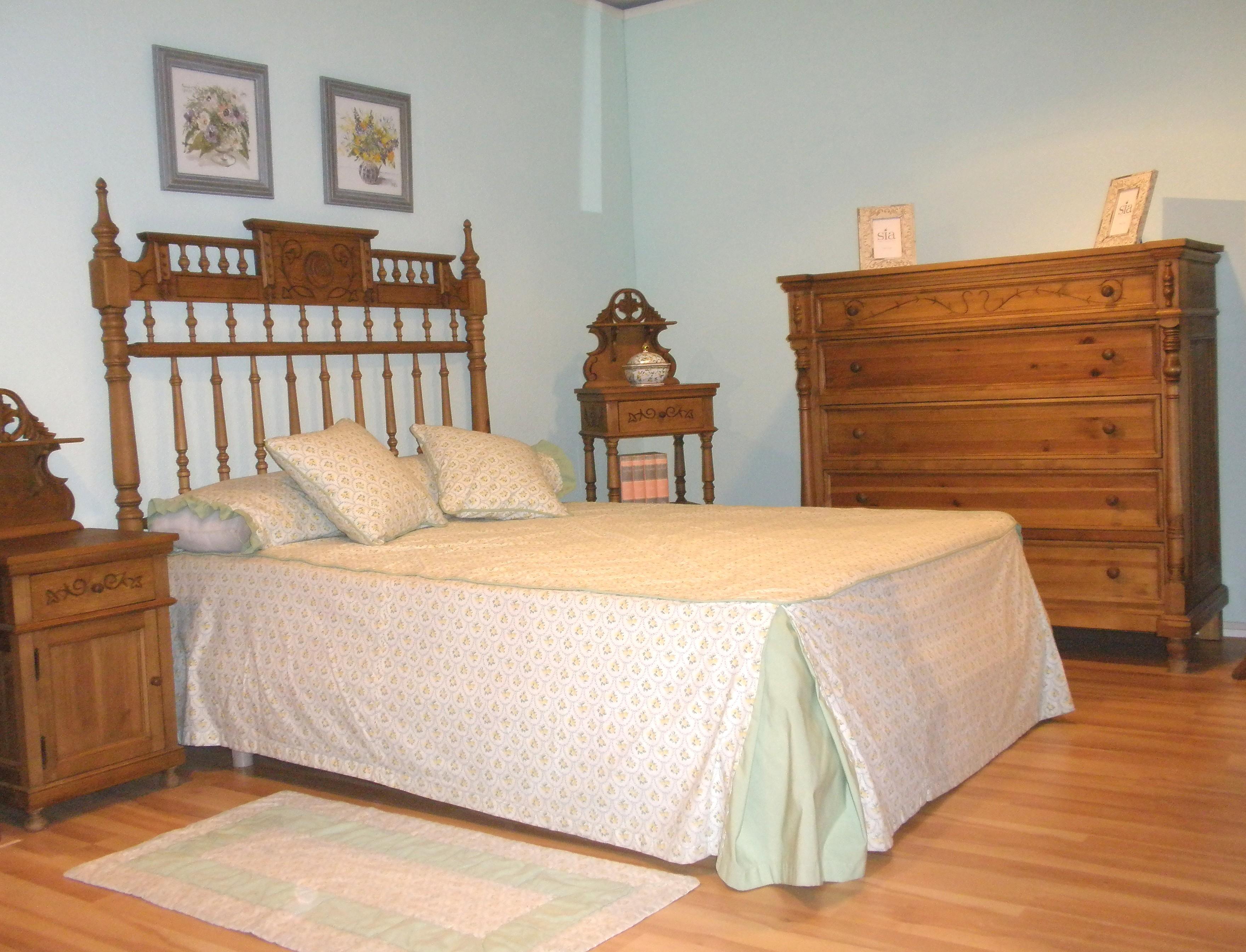 Dormitorios Coloniales Y Cl Sicos Muebles Comar # Muebles Duruelo De La Sierra